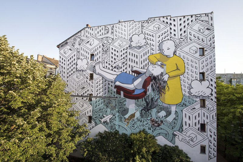 ONE WALL by Millo / Berlin, Germany