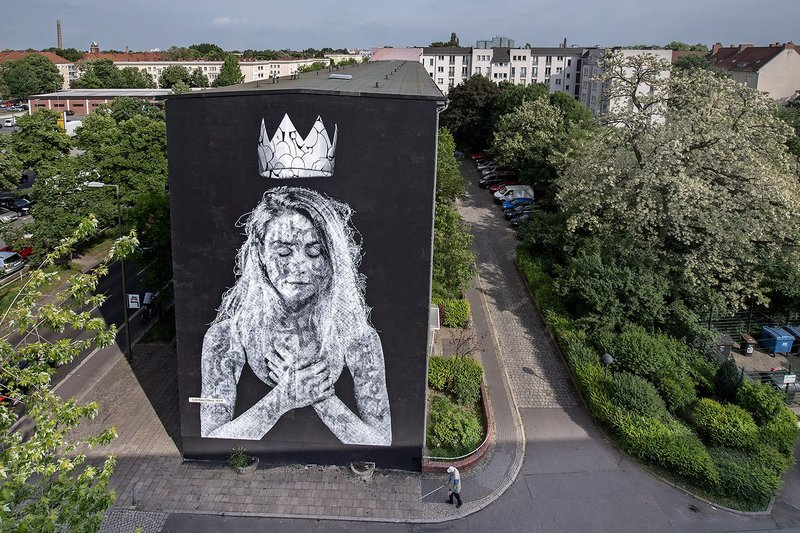 ONE WALL by Snik and Nuno Viegas / Berlin, Germany