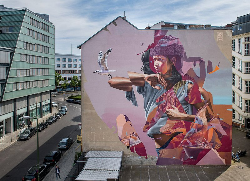 ONE WALL by Telmo Miel and James Bullough / Berlin, Germany