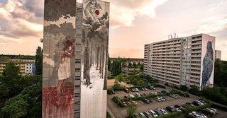 ONE WALL by Borondo / Berlin, Germany