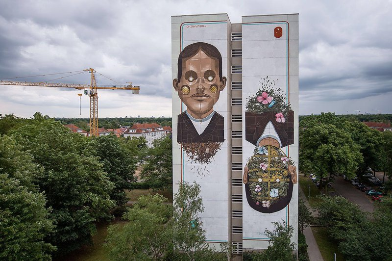 ONE WALL by Pixelpancho / Berlin, Germany