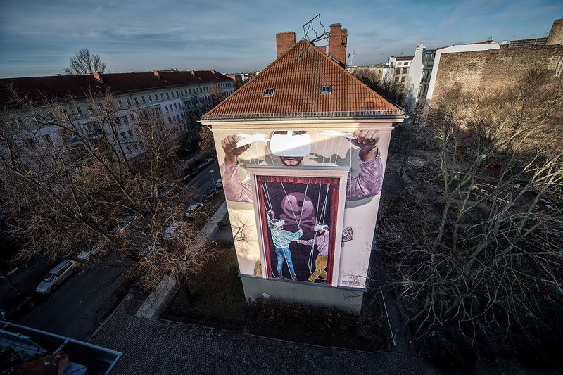 ONE WALL by Innerfields / Berlin, Germany
