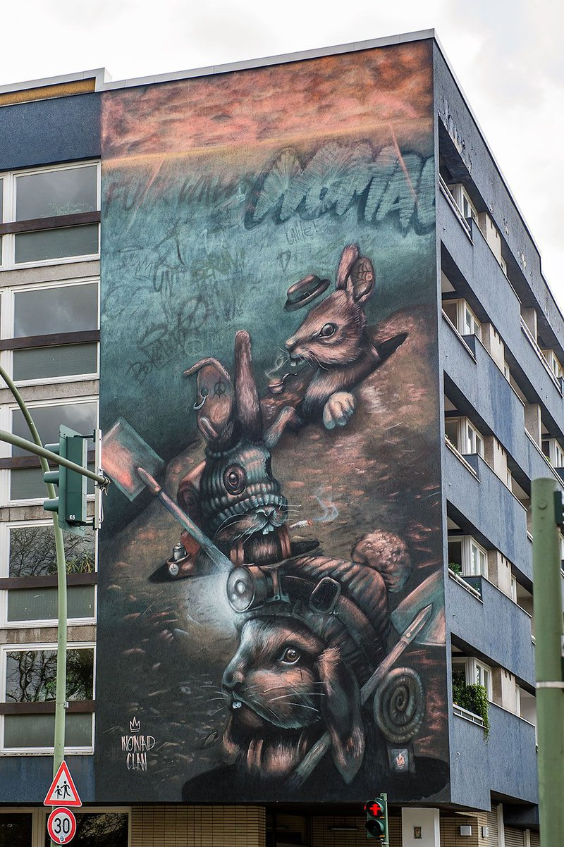 ONE WALL by Nomad Clan / Berlin, Germany