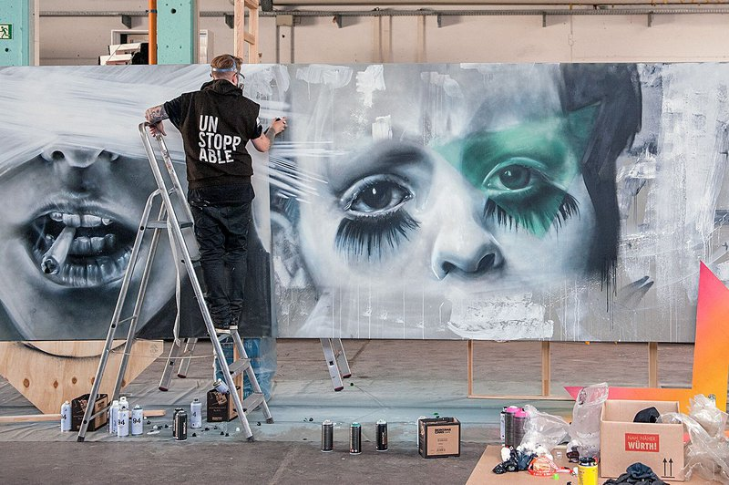 COLLABORATION 2018 by NOMAD CLAN x CSD Truck / Berlin, Germany