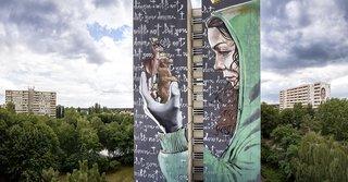 ONE WALL by Nuno Viegas, Hera and Akut / Berlin, Germany