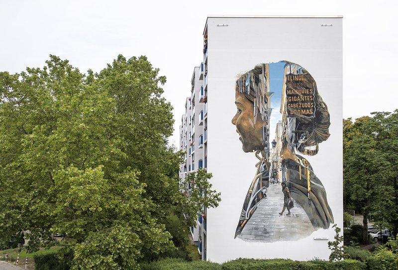 ONE WALL by Christian Blanxer / Berlin, Germany