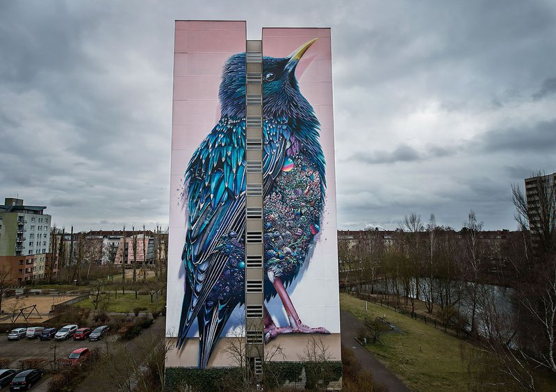 ONE WALL by Collin van der Sluijs & Mr. Super A / Berlin, Germany