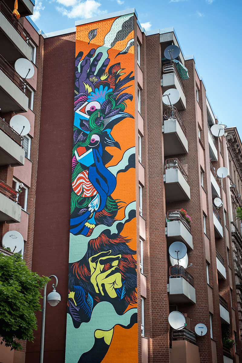 ONE WALL by Bicicleta Sem Freio / Berlin, Germany