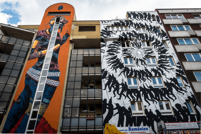 ONE WALL by Deih and David de la Mano / Berlin, Germany