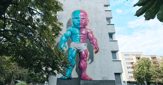 ONE WALL by Ron English / Berlin, Germany